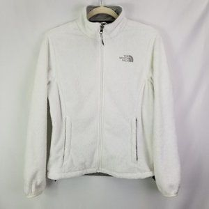 Womens North Face White Fleece Size Small